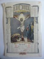 ALMANACH  Calendrier  1909 CABINET DU LECTEUR  LE JOURNAL LA CROIX  Tout Est Consommé  RELIGION - Calendriers