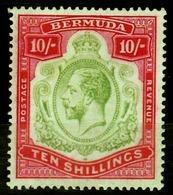Bermuda Scott    53 Mint NH Regummed  EF, - Bermudes