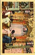 California San Francisco Chinatown Interior Tin How Temple Joss House 1947 - San Francisco