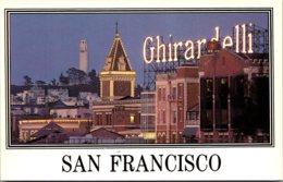 California San Francisco Ghirardelli Shopping Center And Coit Tower - San Francisco