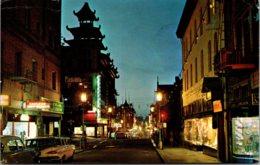 California San Francisco Chinatown Grant Avenue At Night 1964 - San Francisco