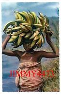 CPSM Dentelées - Petite Marchande De Bananes - AFRIQUE Pays à Identifier - Edit. HOA - QUI N° 3457 - Scans Recto-Verso - Cartes Postales