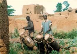 BURKINA FASO  Joueurs De Musique   11   (scan Recto-verso)KEVREN0629 - Burkina Faso