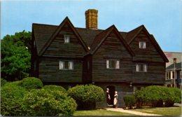 Massachusetts Salem The Witch House Built 1642 - United States