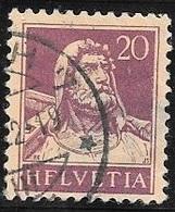 1921 20c William Tell, Used - Switzerland