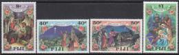 FIJI, 1987 XMAS 4 MNH - Fiji (1970-...)
