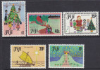 FIJI, 1984 XMAS 5 MNH - Fiji (1970-...)