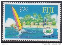 FIJI, 1988 EXPO 1 MNH - Fiji (1970-...)