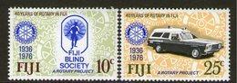 FIJI, 1976 ROTARY 2 MNH - Fiji (1970-...)