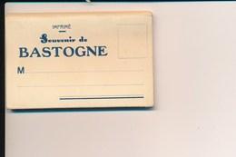 Petite Pochette Dépliant Avec 10 Photos Souvenirs De BASTOGNE ( Je Pense Complet ) - Bastogne