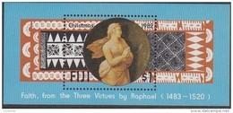 FIJI, 1982 XMAS MINISHEET MNH - Fiji (1970-...)