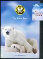 New Zealand - 1996 Endangered Species - $50 Polar Bears - NZ-D-57 - Mint In Pacific Coin Folder - Nouvelle-Zélande