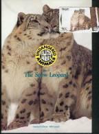 New Zealand - 1996 Endangered Species - $50 Snow Leopards - NZ-D-58 - Mint In Pacific Coin Folder - Neuseeland