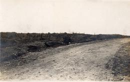 CARTE PHOTO USA - LA ROUTE DE FLIREY A ESSEY EN MEURTHE ET MOSELLE - GUERRE 1914 1918 - 1914-18