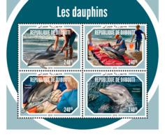 Djibouti 2018    Fauna   Dolphins  S201901 - Djibouti (1977-...)