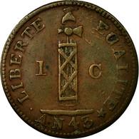 Monnaie, Haïti, Centime, 1846, TTB, Cuivre, KM:24 - Haïti