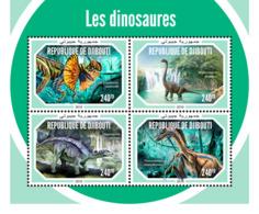 Djibouti 2018     Dinosaurs   S201901 - Djibouti (1977-...)
