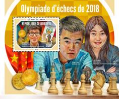 Djibouti 2018   Chess Olympiad 2018 , Best Individual Performance  S201901 - Djibouti (1977-...)