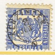 BADEN  22  (o) - Baden