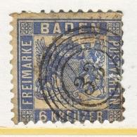BADEN  22   Fault  (o) - Baden