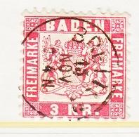 BADEN  27  (o) - Baden