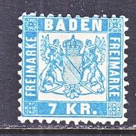 BADEN  28 A   Fault  *  SKY BLUE - Baden