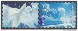 AAT, 2009 POLES/GLACIERS 2 MNH - Australian Antarctic Territory (AAT)