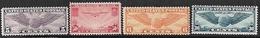 US 1931-9  Sc#C16, C19, C22, C24  4 Better Airmails MNG  2016 Scott Value $29.50 - 1b. 1918-1940 Unused