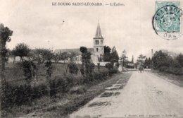 61   LE BOURG SAINT-LEONARD---L'EGLISE---1907 - France