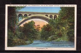 163d * WALNUT LANE BRIDGE OVER WISSAHICKON * ONE OF THE LARGEST CONCRETE BRIDGES IN THE WORLD *!! - Vereinigte Staaten
