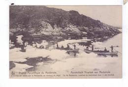Missionnaires A Travers Les Glaces Depart Pirogues  Vicariat Apostolique Du MacKenzie River District Canada - Yukon