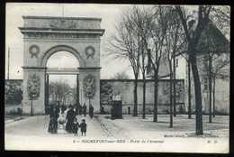 17 ROCHEFORT Porte De L'arsenal 1917 (1) - Rochefort