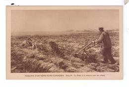 Missions Nord Canadien Charue A Chiens Dog Plow Missionnaires Oblats  MacKenzie District Canada - Yukon