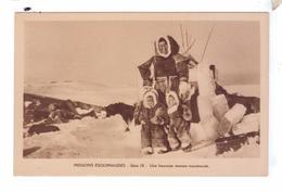 Missions Esquimaude Nord Canadien ESQUIMAUX INUIT  Femme Enfants Missionnaires Oblats Canada - Nunavut