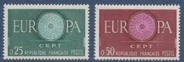 N° 1266 Et 1267 Europa - France