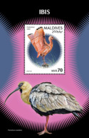 Maldives  2018    Fauna  Ibis  Birds  S201901 - Maldives (1965-...)