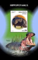 Maldives  2018    Fauna  Hippopotamus   S201901 - Maldives (1965-...)