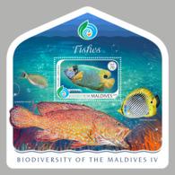 Maldives  2018    Fauna  Fishes  S201901 - Maldives (1965-...)