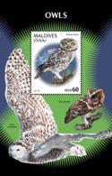 Maldives  2018    Fauna  Owls  S201901 - Maldives (1965-...)