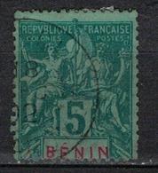 BENIN           N°  YVERT      36   OBLITERE       ( O   2/56 ) - Bénin (1892-1894)