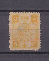 CHINA SG 20 MH THIN - Unused Stamps
