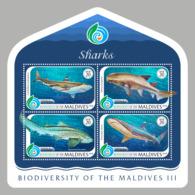 Maldives  2018    Fauna  Fishes Sharks  S201901 - Maldives (1965-...)