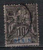BENIN           N°  YVERT      37             OBLITERE       ( O   2/56 ) - Bénin (1892-1894)