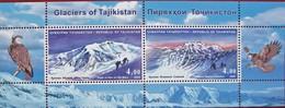 Tajikistan  2009 Glaciers Of  Tajikistan  S/S MNH - Tadschikistan