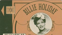 TELECARTE 50....BILLIE HOLIDAY... - France