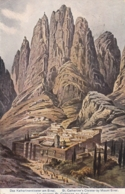 AK -Ägypten -  Katharinenkloster Am Sinai - 1914 - Sonstige