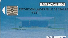 TELECARTE 50....EXPOSITION UNIVERSELLE DE SEVILLE  1992.. - France