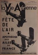 La Vie Aérienne. Fête De Villacoublay. Jane Herveux Et Amelia Earhart. Jean Reginensi, Etc. - AeroAirplanes