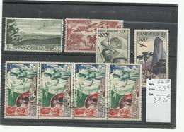 Cameroun YT P.A. 38/ 41 Neuf + 42 X 4 Obl. Voir Description, Cote 58€20 - Cameroun (1915-1959)