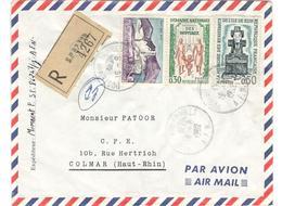 14334 - Recommandée Du S.P. 87319 - Marcophilie (Lettres)